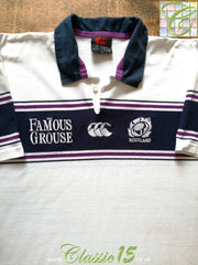 2000/01 Scotland Away Rugby Shirt (XXL)