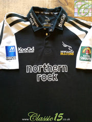 2003/04 Newcastle Falcons Home Rugby Shirt (M)