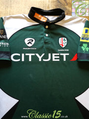 2010/11 London Irish Home Premiership Pro-Fit Rugby Shirt (XL)
