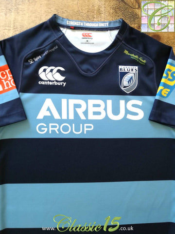 2014/15 Cardiff Blues Home Rugby Shirt (M)