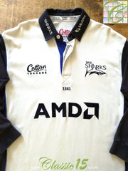 2004/05 Sale Sharks Away Rugby Shirt. (M)