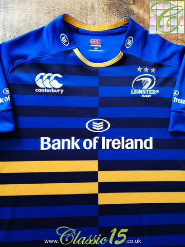 2014/15 Leinster European Rugby Shirt (XXL)