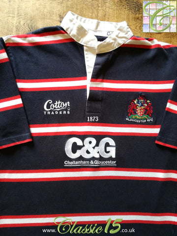 2003/04 Gloucester Away Rugby Shirt (M)