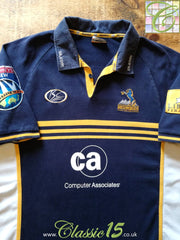 2006 Brumbies Home Super 14 Rugby Shirt (W) (Size 12)
