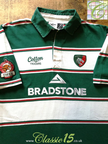2007/08 Leicester Tigers Home Rugby Shirt (M)