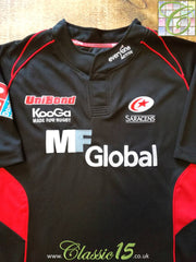2008/09 Saracens Home Rugby Shirt (M)