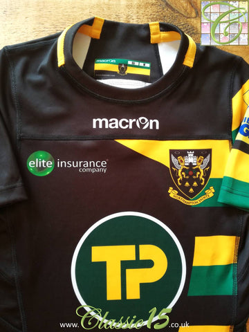 2016/17 Northampton Saints Cup Player Specification Rugby Shirt (M)