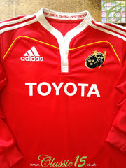 2009/10 Munster Home Rugby Shirt. (L)