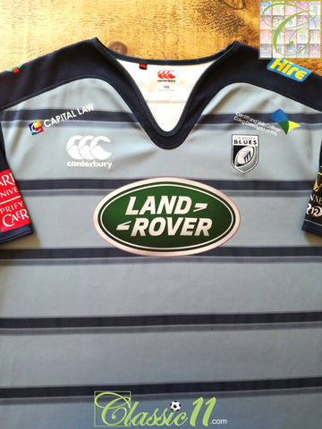 2017/18 Cardiff Blues Home Rugby Shirt (4XL)