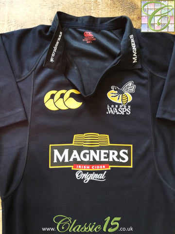 2005/06 London Wasps Home Player Issue Rugby Shirt (L)