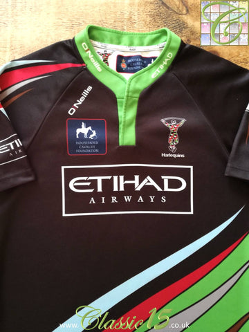 2013/14 Harlequins Big Game 6 Rugby Shirt (M)