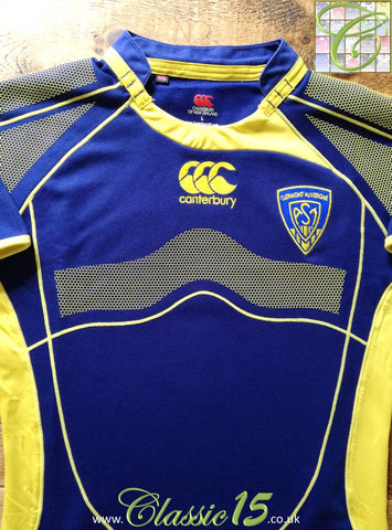 2008/09 Clermont Auvergne Away Player Issue Rugby Shirt (L)