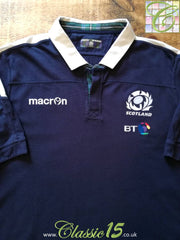2016/17 Scotland Home Rugby Shirt (4XL)