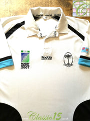 2007 Fiji Home World Cup Rugby Shirt (M)