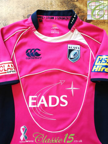 2008/09 Cardiff Blues Away Rugby Shirt (S)
