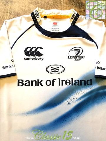 2009/10 Leinster Away Rugby Shirt (L)