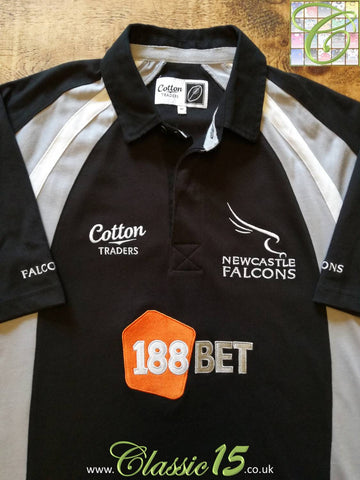 2010/11 Newcastle Falcons Home Rugby Shirt (M)