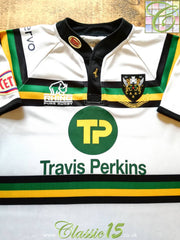 2008/09 Northampton Saints Away Pro-Fit Rugby Shirt (M)