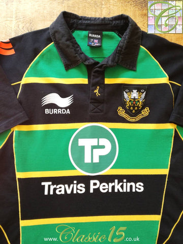 2010/11 Northampton Saints Home Rugby Shirt (S)
