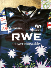 2010/11 Ospreys 3rd Pro-Fit Rugby Shirt (3XL)