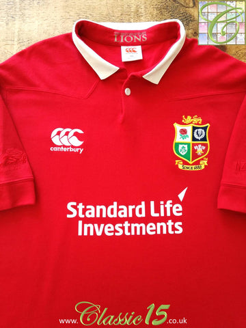 2017/18 British & Irish Lions Vapodri Rugby Shirt (XXL)