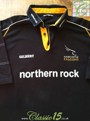 2001/02 Newcastle Falcons Home Rugby Shirt (L)