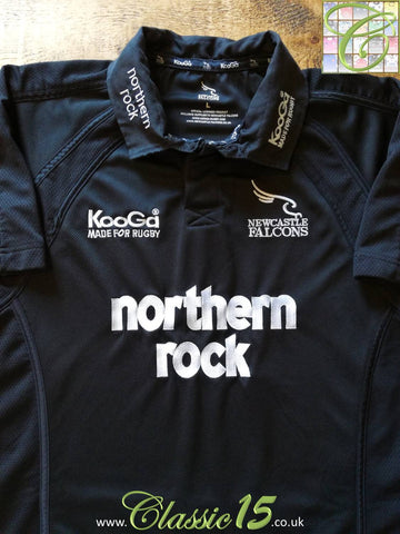 2004/05 Newcastle Falcons Home Rugby Shirt (XL)