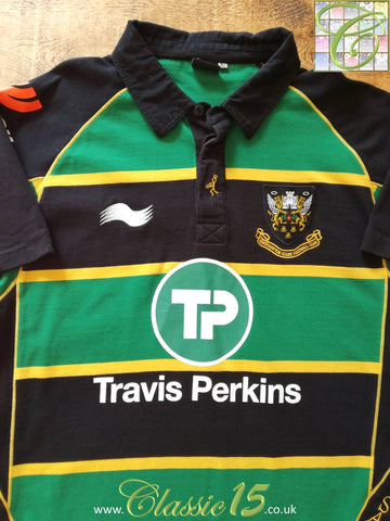 2011/12 Northampton Saints Home Rugby Shirt (L)