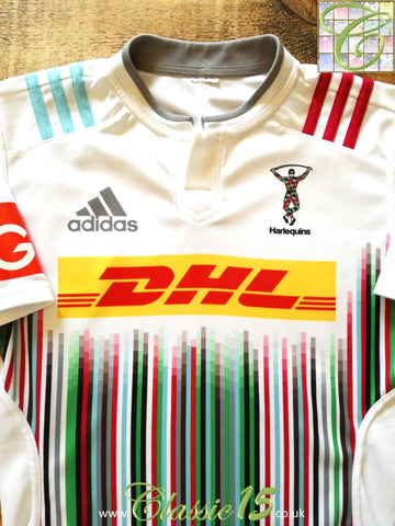 2015/16 Harlequins Away Rugby Shirt (M)
