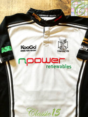 2005/06 Ospreys Away Rugby Shirt (XXL)