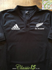 2007 New Zealand Home Rugby Shirt (XL)
