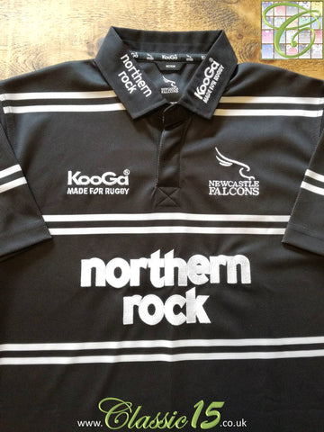 2006/07 Newcastle Falcons Home Rugby Shirt (L)