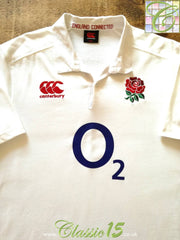2015/16 England Home Rugby Shirt (L)