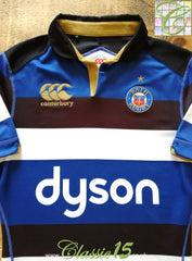 2016/17 Bath Home Vapodri Rugby Shirt (L)