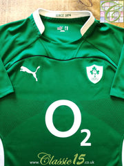 2009/10 Ireland Home Pro-Fit Rugby Shirt (XXL)