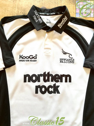 2004/05 Newcastle Falcons Away Rugby Shirt (XXL)