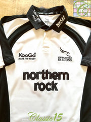 2004/05 Newcastle Falcons Away Rugby Shirt (L)