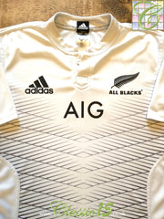 2015 New Zealand Away Rugby Shirt (XL)