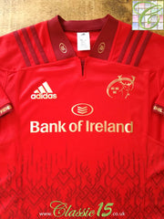 2017/18 Munster Home Rugby Shirt (XL)
