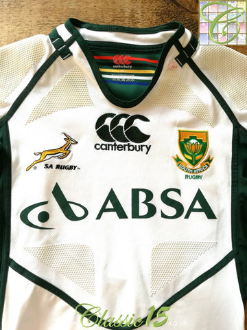 2011/12 South Africa Away Player Issue Rugby Shirt (M)