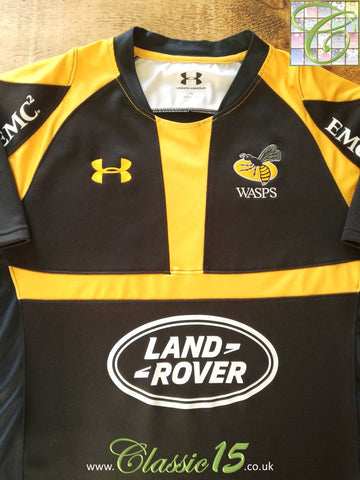 2015/16 Wasps Home Rugby Shirt (XL)