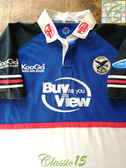 2003/04 Celtic Warriors Home Rugby Shirt (L)