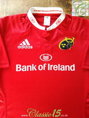 2015/16 Munster Home Rugby Shirt (XXL)