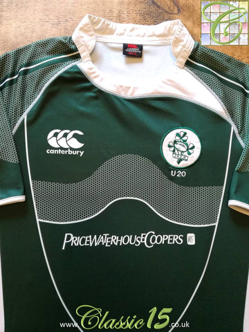 2007/08 Ireland Home U20 Rugby Shirt (3XL)