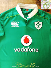 2016/17 Ireland Home Pro-Fit Rugby Shirt (M)