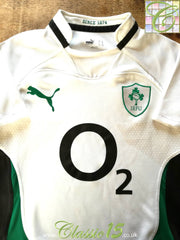 2009/10 Ireland Away Pro-Fit Rugby Shirt (L)