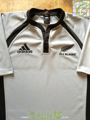2007 New Zealand Away Rugby Shirt (M)