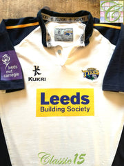 2005/06 Leeds Tykes Home Rugby Shirt (S)