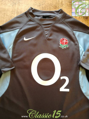 2005/06 England Rugby Training Shirt - Grey (M)