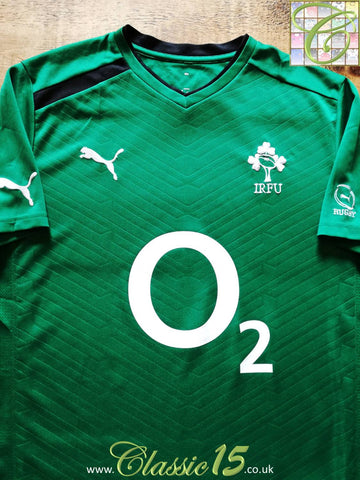 2011/12 Ireland Rugby Squad T-Shirt (S)